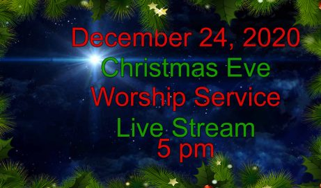 2020 Christmas Eve 5pm Worship Service
