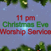 2020 Christmas Eve Candlelight Worship Service Live Stream